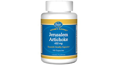 Edgar Cayce's Nature's Blessing Supplement Recommendations Jerusalem Artichoke
