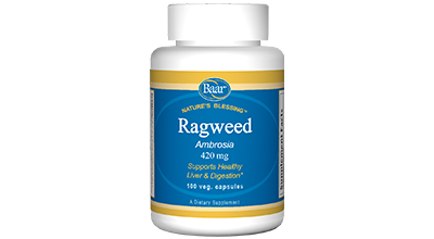 Edgar Cayce's Nature's Blessing Supplement Recommendations Ragweed Capsules