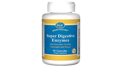 Edgar Cayce's Nature's Blessing Supplement Recommendations Super Digestive Enzymes