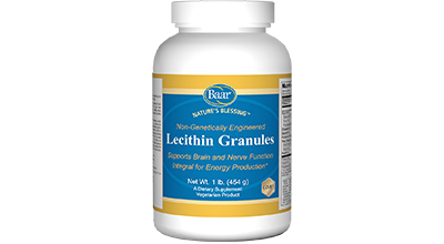 Nature's Blessing Lecithin Granules
