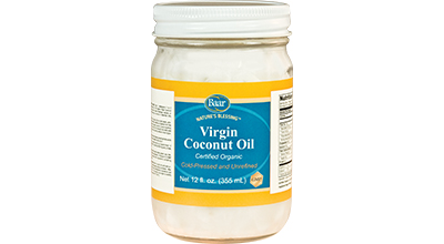 Nature's Blessing Cerified Organic Virgin Coconut Oil