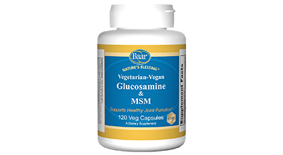 Nature's Blessing Glucosamine with MSM